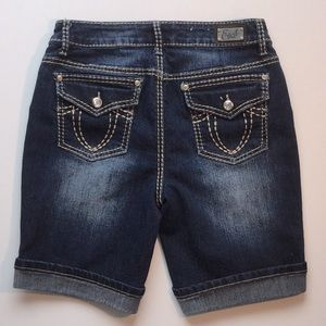 Earl Jeans Long Shorts Embellished Size 4 EUC